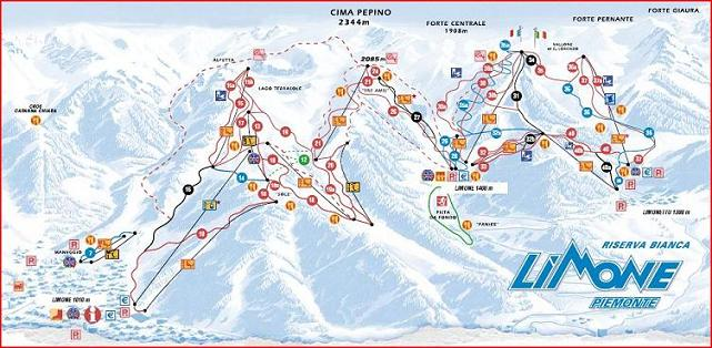 Grab your kit and hit the slopes at Limone Piemonte